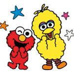 Sesame Street Happy Day αυτοκόλλητο 26