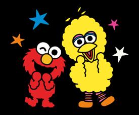 Sesame Street Happy Day Sticker 26