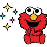Sesame Street Happy Day Aufkleber 28