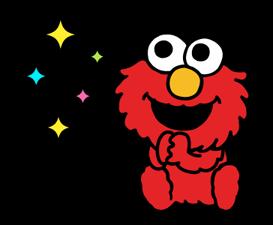 Sesame Street Happy Day Sticker 28
