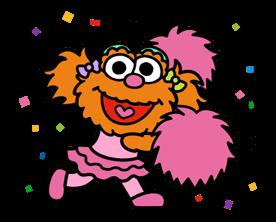 Sesame Street Happy Day Sticker 35