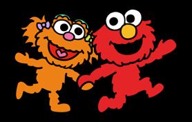Sesame Street Happy Day Sticker 37