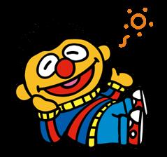 Sesame Street Happy Day Sticker 3