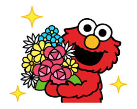 Sesame Street Happy Day Sticker 9