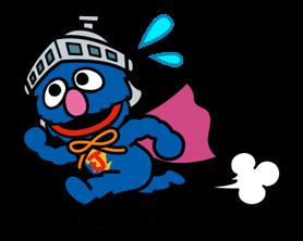 Sesame Street Happy Day Sticker 12