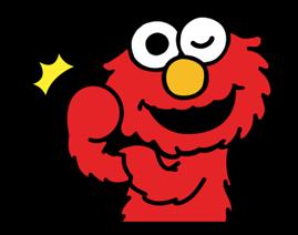 Sesame Street Happy Day Sticker 18