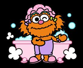 Sesame Street Happy Day Sticker 19