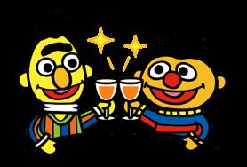 Sesame Street Happy Day Sticker 21