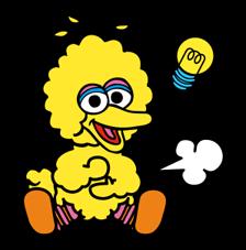 Sesame Street Happy Day Sticker 23