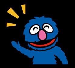 Sesame Street Happy Day Sticker 24