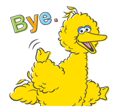 Sesame Street Sticker 17