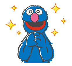 Sesame Street Sticker 20