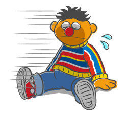 Sesame Street Sticker 26
