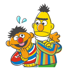 Sesame Street Sticker 29