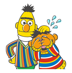Sesame Street Sticker 31