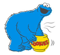 Sesame Street Sticker 32