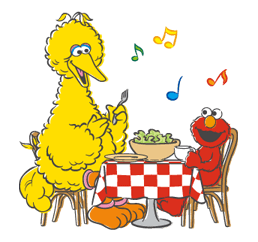 Sesame Street Sticker 36
