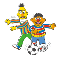 Sesame Street Sticker 38
