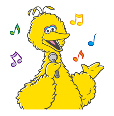 Sesame Street Sticker 4