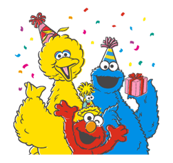 Sesame Street Sticker 5