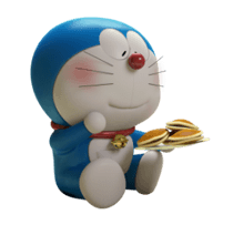 Stand By Me Doraemon adesivo 2