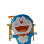Beni Doraemon Sticker Stand By 4