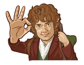 THE HOBBIT Sticker 8