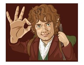 The Hobbit Sticker 8