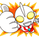 ULTRAMAN Heroes & Monsters Sticker 1