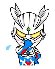 Herois ULTRAMAN & Monsters etiqueta 6