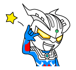 Ultraman Heroes & Monsters Sticker 12