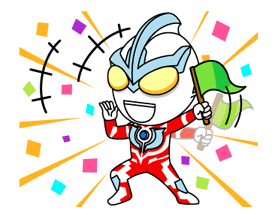 ULTRAMAN Heroes & Monsters Sticker 14