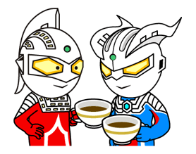 ULTRAMAN Heroes & Monsters Sticker 28