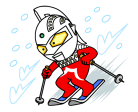 ULTRAMAN Heroes & Monsters Sticker 38