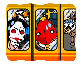 ULTRAMAN Heroes & Monsters Sticker 39