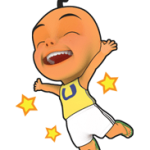 Upin e Ipin Sticker 1