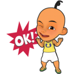 Upin & ipin Sticker 3
