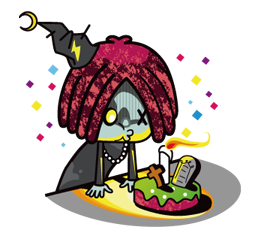 Zombie Mùa Sticker 4