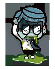 Zombie Mùa Sticker 7