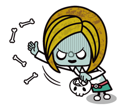 Zombie Mùa Sticker 8