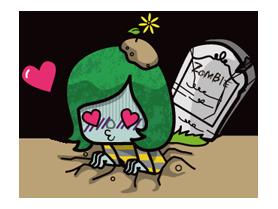 Zombie Season Sticker 10