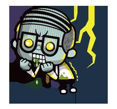 Zombie Season Sticker 11