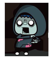 Zombie Season Sticker 19