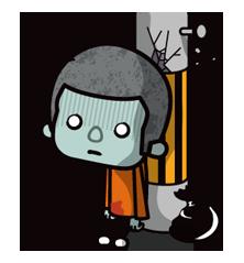 Zombie Mùa Sticker 21