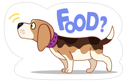A Dog's World Sticker 4