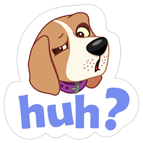 A Dog's World Sticker 9