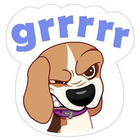 A Dog's World Sticker 12
