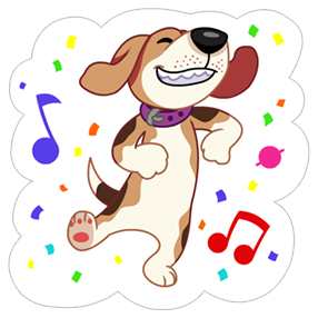 A Dog's World Sticker 20
