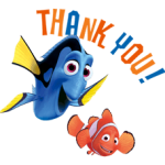Finding Nemo Sticker 2