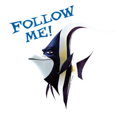 Finding Nemo Sticker 11